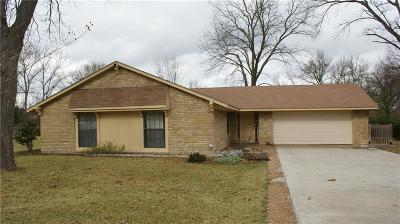 Waxahachie Single Family Home Active Contingent: 117 Lakewood Drive