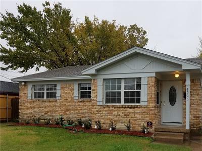 Irving Single Family Home For Sale: 1528 Mark Street