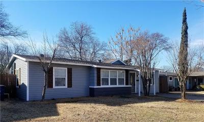 Dallas Single Family Home For Sale: 11536 Dorchester Drive