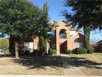 Grand Prairie Single Family Home Active Option Contract: 4530 Gildersleeve Street