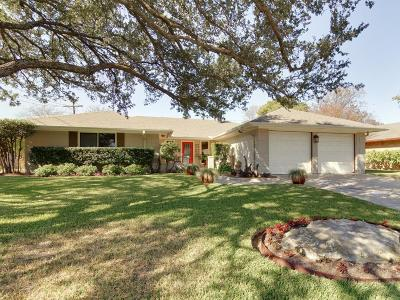 Fort Worth Single Family Home Active Option Contract: 5212 South Drive