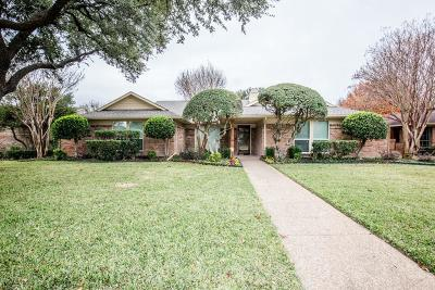 Plano Single Family Home Active Option Contract: 3208 Cross Bend Road