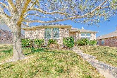 Rockwall Single Family Home Active Option Contract: 3108 Misty Ridge Lane
