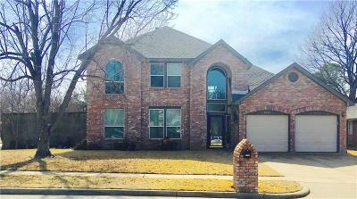 Flower Mound Single Family Home Active Contingent: 2301 Misty Trail Lane