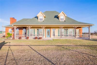 Weatherford Single Family Home For Sale: 2821 Clear Lake Road