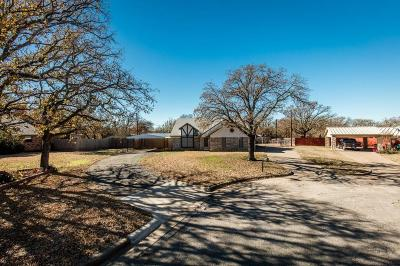 Fort Worth Single Family Home For Sale: 9716 Windsor Circle