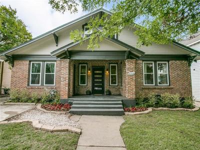 Dallas Single Family Home For Sale: 5516 Richmond Avenue