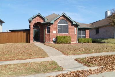 Rowlett Single Family Home For Sale: 1717 Pendleton Road