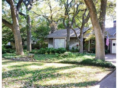 Fort Worth Single Family Home For Sale: 3805 Crestwood Terrace