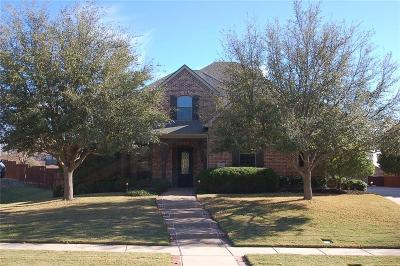 Prosper Single Family Home For Sale: 590 Willow Ridge Circle