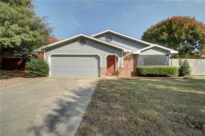 Bedford Single Family Home Active Option Contract: 3100 Sage Lane