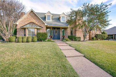 Plano Single Family Home Active Contingent: 2204 Winding Hollow Lane