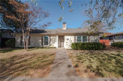 Dallas Single Family Home Active Option Contract: 6331 N Jim Miller Road