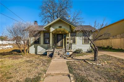 Dallas Single Family Home For Sale: 2022 N Prairie Avenue