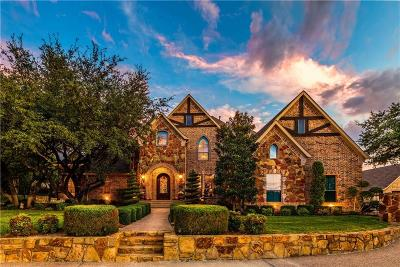 Fort Worth Single Family Home For Sale: 8625 Waterfront Court