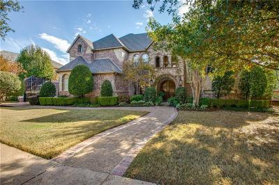 Lewisville Single Family Home Active Option Contract: 2604 Sir Gawain Lane