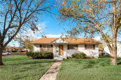 Cleburne Single Family Home For Sale: 710 Odell Street