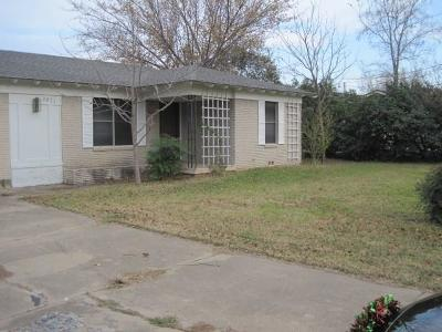 Dalworthington Gardens Residential Lease For Lease: 2811 Roosevelt Drive