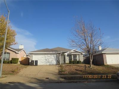 Fort Worth Single Family Home For Sale: 7405 Ashbourne Way