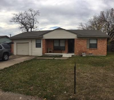 Mesquite Single Family Home For Sale: 1707 Summit Street