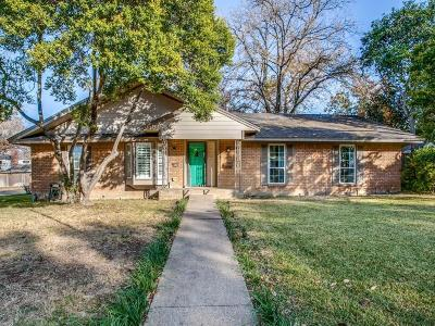 Dallas Single Family Home Active Option Contract: 3305 Camelot Drive