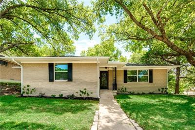 Dallas Single Family Home For Sale: 2607 Lanecrest Drive