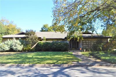 Benbrook Single Family Home Active Option Contract: 8512 Marys Creek Drive