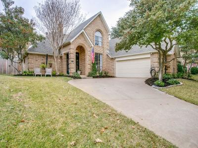 Grapevine Single Family Home Active Option Contract: 3506 Fieldwood Street