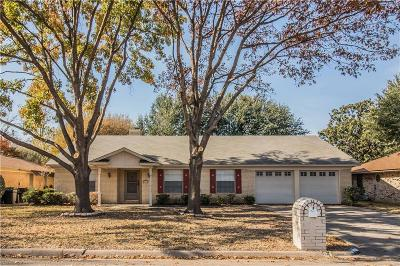 North Richland Hills Single Family Home Active Option Contract: 5521 Spring Meadow Drive