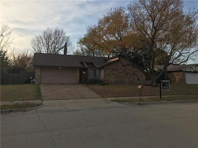 Keller Single Family Home Active Option Contract: 328 Anita Avenue
