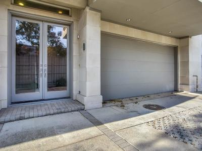 Dallas Townhouse For Sale: 3816 Bowser Avenue #D