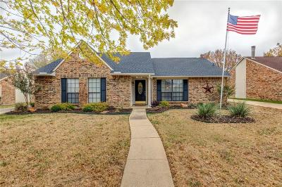 Flower Mound TX Single Family Home Active Option Contract: $255,000