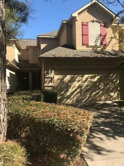 Euless Townhouse For Sale: 617 Jamboree Way