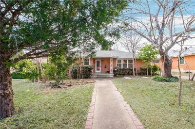 Dallas Single Family Home For Sale: 2606 Woodmere Drive