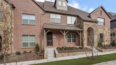 McKinney Townhouse For Sale: 7124 Huckleberry Drive