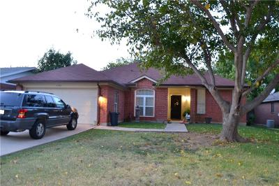 Mansfield Single Family Home Active Option Contract: 1701 Oxford Drive