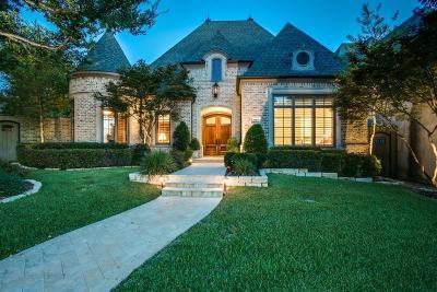 Dallas Single Family Home Active Option Contract: 5501 Prestwick Lane