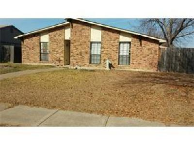 Plano Single Family Home Active Option Contract: 961 Longhorn Drive