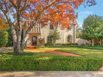 Fort Worth Single Family Home Active Option Contract: 601 Rivercrest Drive
