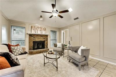 Mesquite Single Family Home Active Option Contract: 1525 Creek Bluff Circle