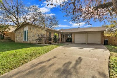 Hurst Single Family Home Active Option Contract: 1932 Yucca Trail