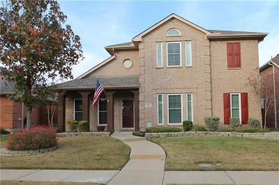 Allen Single Family Home Active Contingent: 1613 Woodstream Lane
