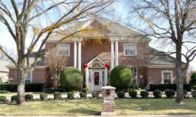 Colleyville Single Family Home Active Option Contract: 4305 Hidden Valley Court