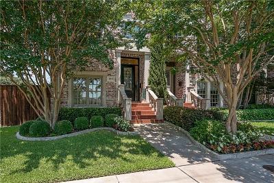 Dallas Townhouse For Sale: 4041 Throckmorton Street
