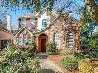 Plano Single Family Home Active Option Contract: 9205 Cedardale Drive