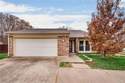 Flower Mound Single Family Home Active Option Contract: 3727 S Magnolia Court