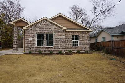 Dallas Single Family Home For Sale: 4410 Cardinal Drive