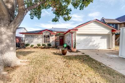 Euless Single Family Home Active Option Contract: 1205 Saratoga Drive