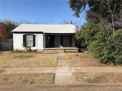 Dallas Single Family Home For Sale: 6629 Lockheed Avenue