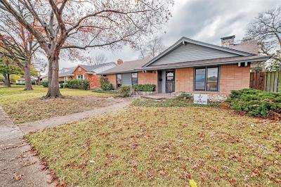 Dallas Single Family Home For Sale: 3807 Ovid Avenue